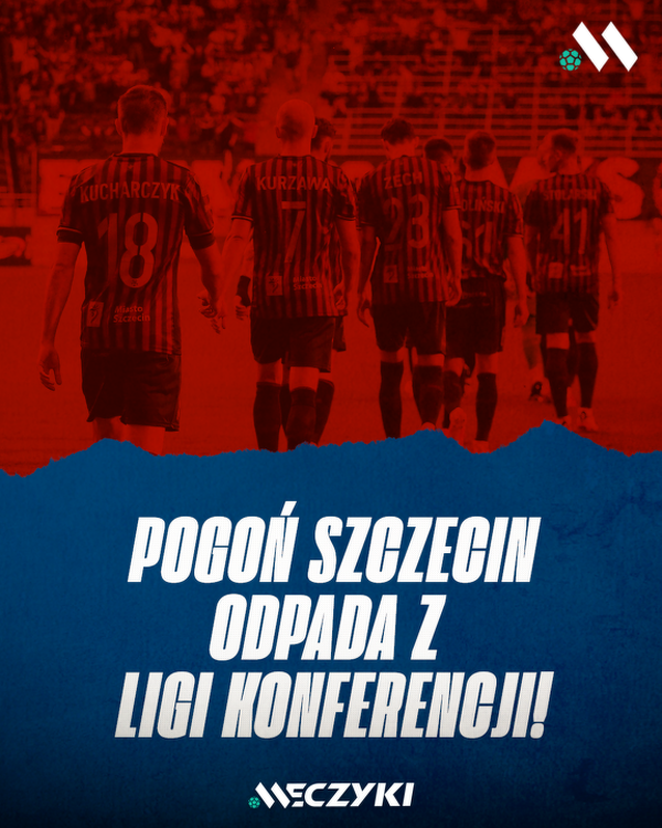 Pogoń Szczecin żegna się z europejskimi pucharami...