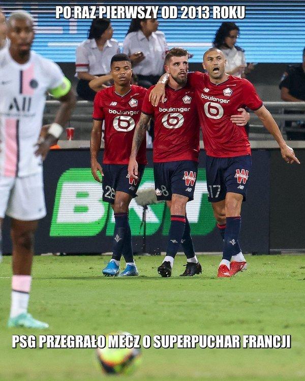 Lille przerwało dominację PSG